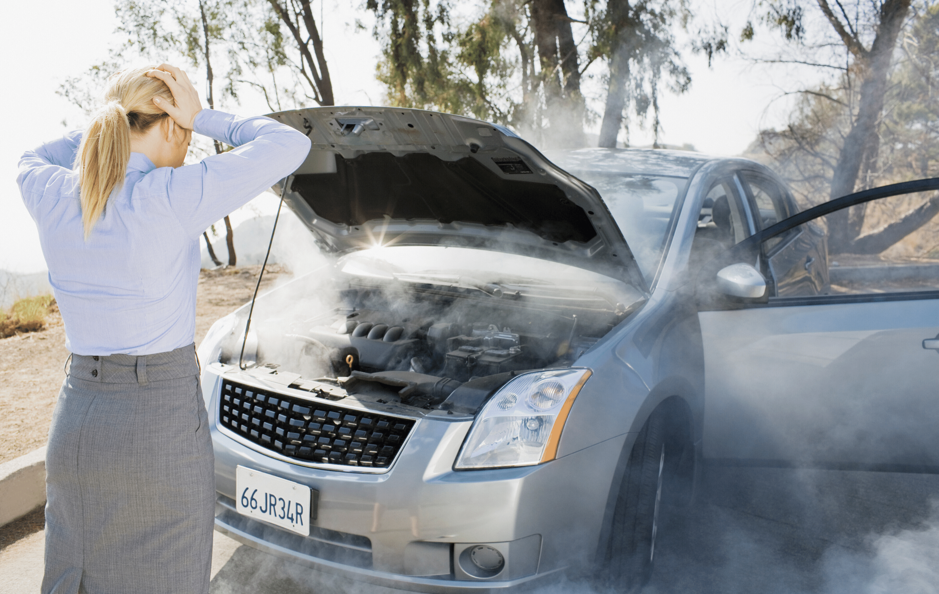 what to do when your car is overheating